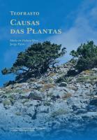 Teofrasto. Causas das plantas - Imprensa da Universidade de Coimbra (IUC)