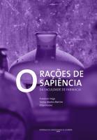 Orações de Sapiência da Faculdade de Farmácia da Universidade de Coimbra 1921 - 2020
