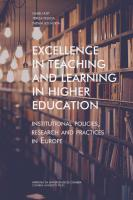 Excellence in Teaching and Learning in Higher Education