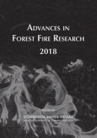 Advances in Forest Fire Research 2018